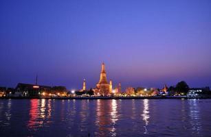 wat arun, bangkok, tailândia foto