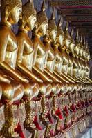 bangkok (tailândia), budas de ouro foto