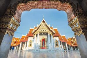 wat benchamabophit, bangkok, tailândia