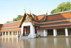 wat saket, bangkok, tailândia foto