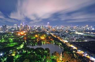 lumphini park, bangkok, tailândia