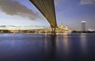 ponte de bhumibol foto