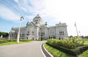 palácio de ananta samakhom, bangkok tailândia foto