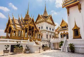 phra thinang dusit maha prasat templos foto