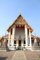 wat pho em bangkok, tailândia foto