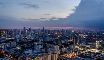 espaço da cidade de bangkok foto