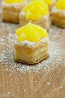 pastelaria de limão foto