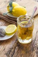 chá de limão foto