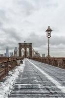 a ponte de brooklyn foto