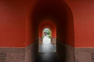 templo de chengdu wuhou, china foto