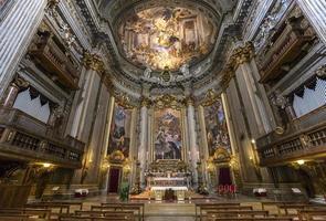 igreja de sant ignazio, roma, itália foto