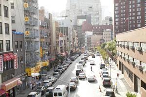 chinatown em nova york foto