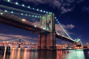 ponte de brooklyn em nova york