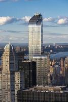 skyline de detalhes de new york city foto