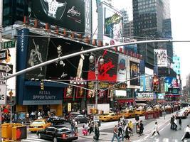 46th new york city e broadway foto