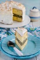 bolo de limão merengue foto