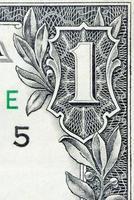 um dólar americano foto