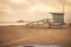 torre de salva-vidas foto