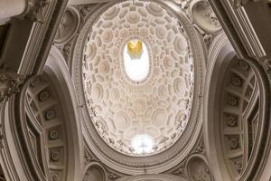 igreja de san carlo alle quattro fontane, roma, itália foto
