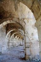 antigo teatro de roma foto