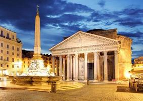 roma - panteão, itália