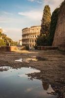 ruines do colloseum foto