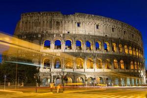 Coliseu, em Roma, na Itália foto