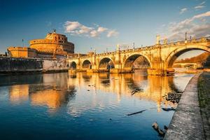 fortaleza de sant'angelo, roma foto