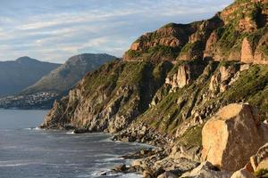 litoral da península do cabo, cidade do cabo foto