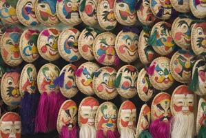 máscaras faciais em hanoi foto