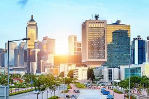 central, hong kong foto