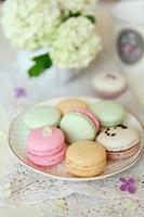 macaroons coloridos foto
