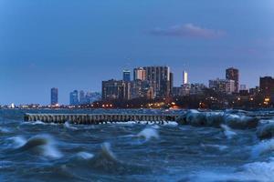 skyline de chicago foto