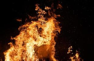 coluna de fogo