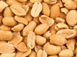 textura de amendoim foto
