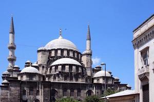 nova mesquita em istambul foto