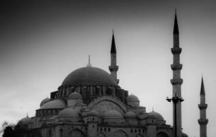 Mesquita de Sultanahamet foto