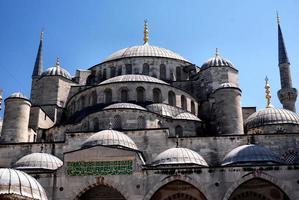 a mesquita azul em Istambul, Turquia