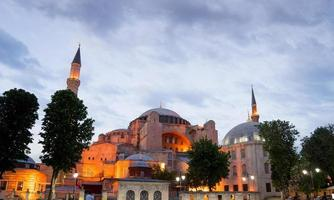 hagia sophia, sultão ahmed mesquita azul, istambul turquia foto