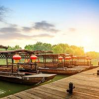 barco tradicional chinês foto