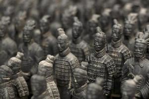 soldados de terracota foto