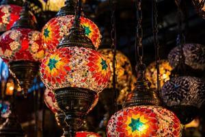 lâmpadas vermelhas foto