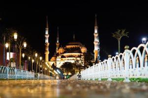 a mesquita hagia sophia foto