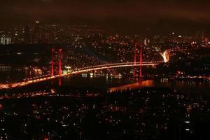 luzes da cidade foto