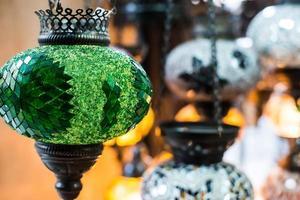 lâmpada lanterna árabe foto