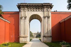 portão no palácio dolmabahce foto