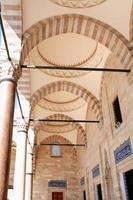 colunata na mesquita foto