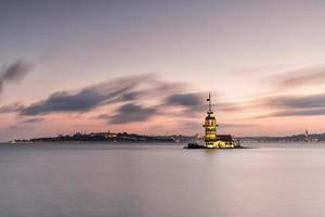 torre da donzela longa exposição foto