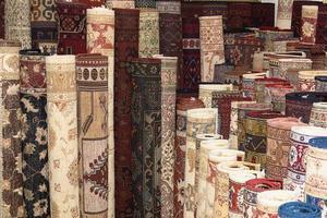 tapetes turcos em kelims foto