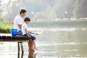 pesca em familia foto